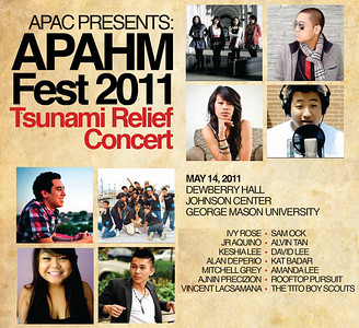 2011.05.22   Live Show: APAHM Fest 2011 @ GMU