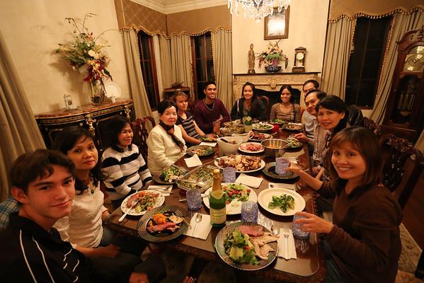 Thanksgiving Dinner 29Nov13