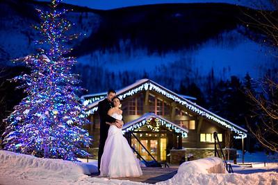 Wedding album: Meghan and Ryan at Donovan Pavilion in Vail