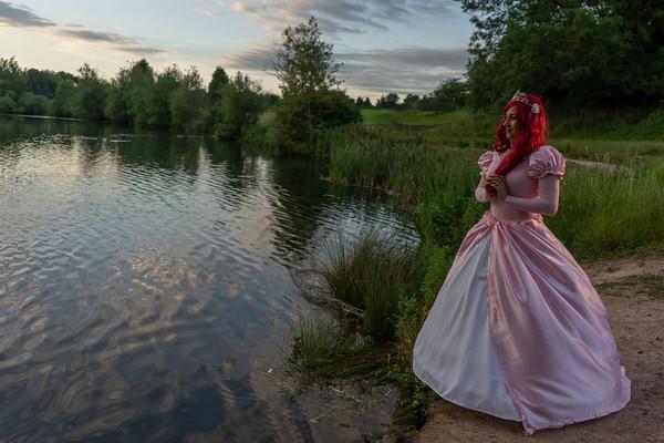 Wendy's Princess photo-shoot