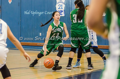 2016 Basketball Eagle Rock Girls vs Marshall 10Feb2016