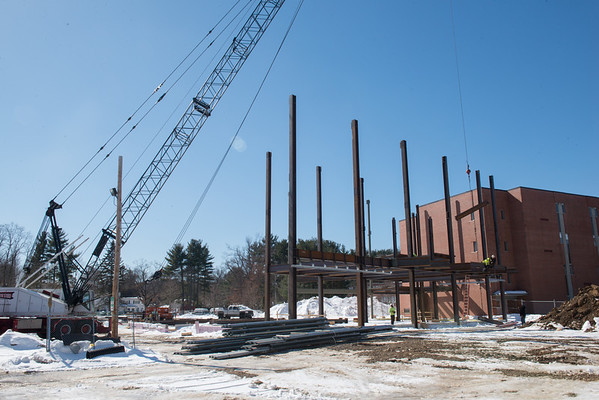 Stevens Center Construction Images