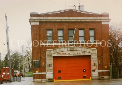 Engine 151 - Ladder 76 - Thawing Unit 63