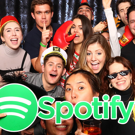 Spotify Holiday Party