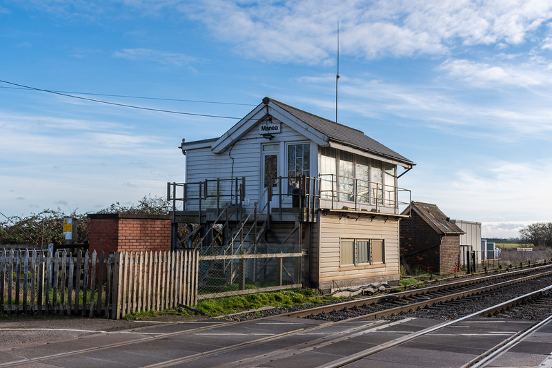 Manea Station & Signal box