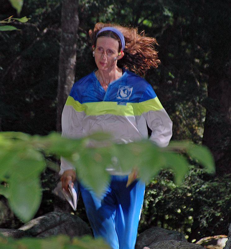 Tina Williams races to the finish   (Sep 12, 2004, 11:48am)