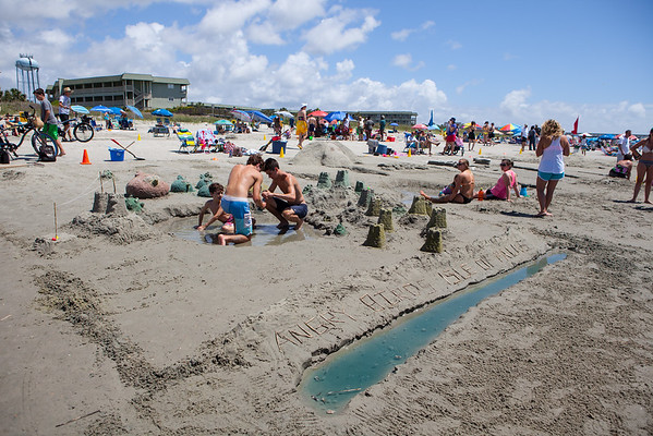 Piccolo Sand Sculpting Competition 2015
