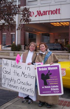 Prayerful Demonstration outside Bishops' Mass in Baltimore
