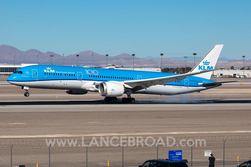KLM 787-9 - PH-BHL - LAS