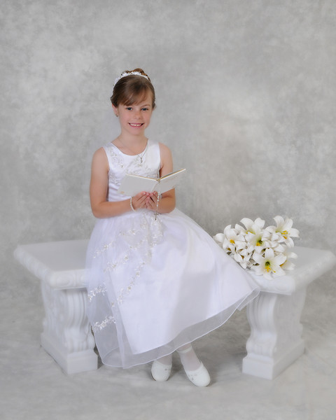 Camryn's 1st Holy Communion