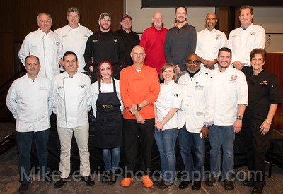 Mid-Cities Supporters of SafeHaven 2019 Celebrity Chefs