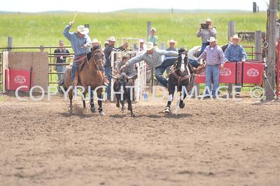 Steer Wrestling 06-22-13 Slack