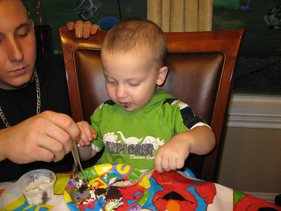 2007 October - Cameron's Birthday