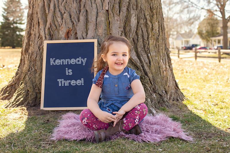 Kennedy is 3