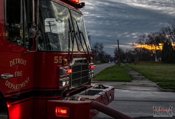 Detroit MI, House Fire 4-6-2020 #2
