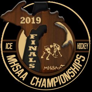 2019 0309 MHSAA Hockey Finals
