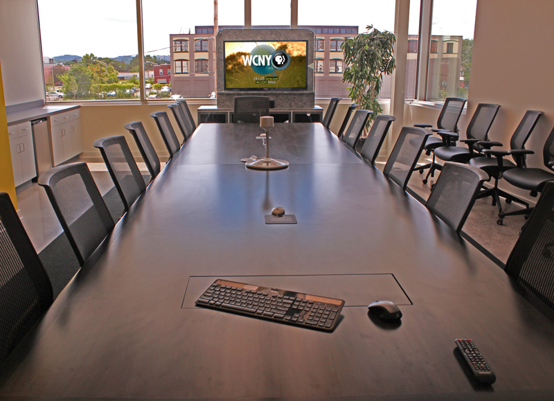 . The boardroom.