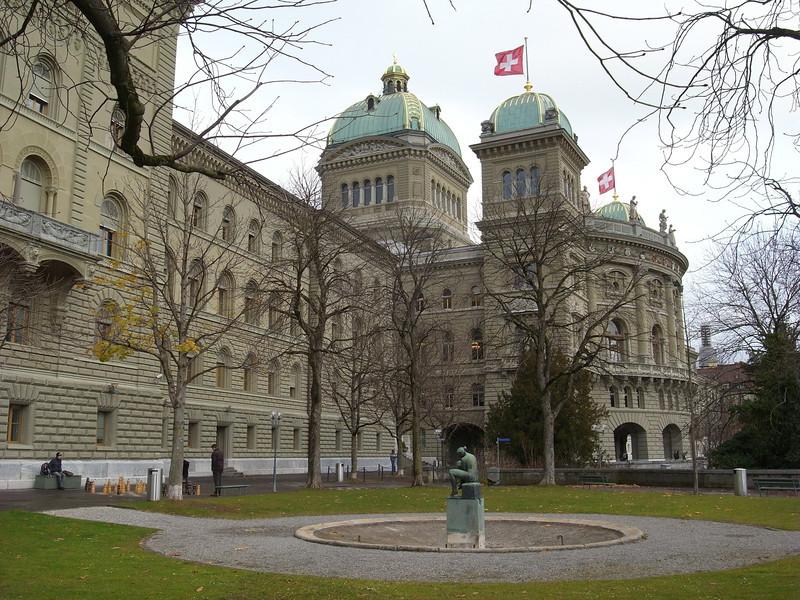 Bern - Bundeshaus.