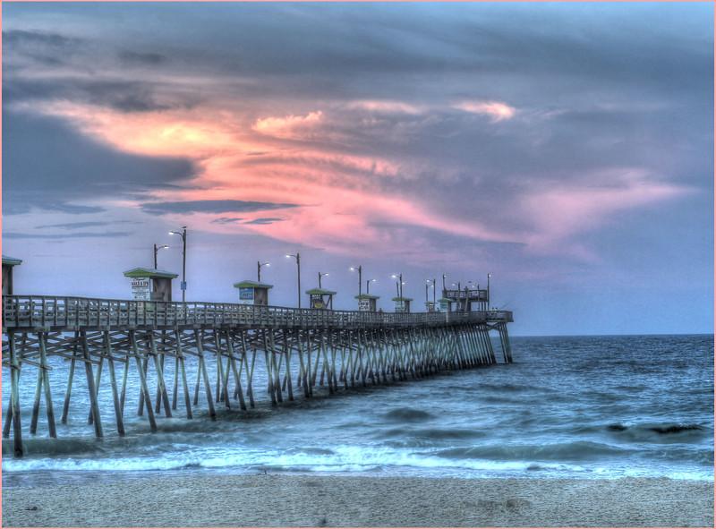 North Carolina Fishing Pier