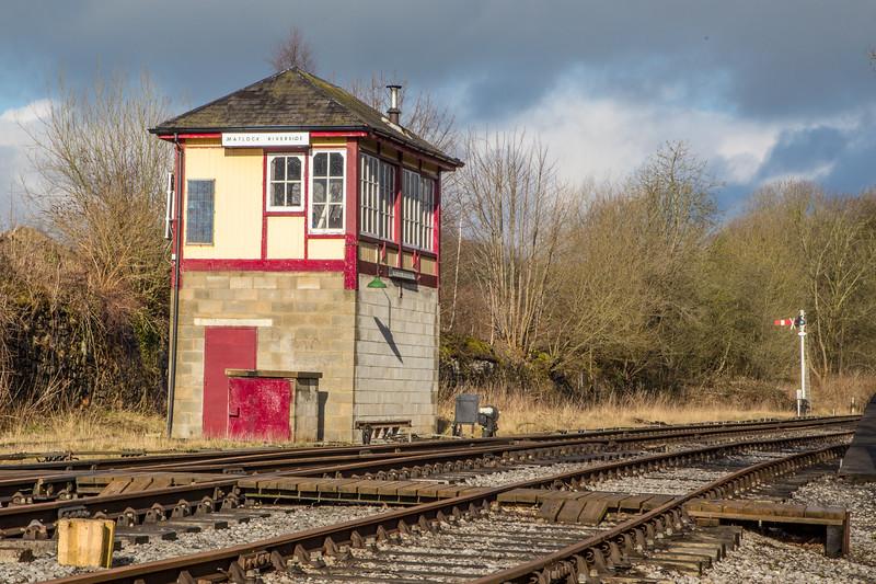 Matlock Riverside Signal Box