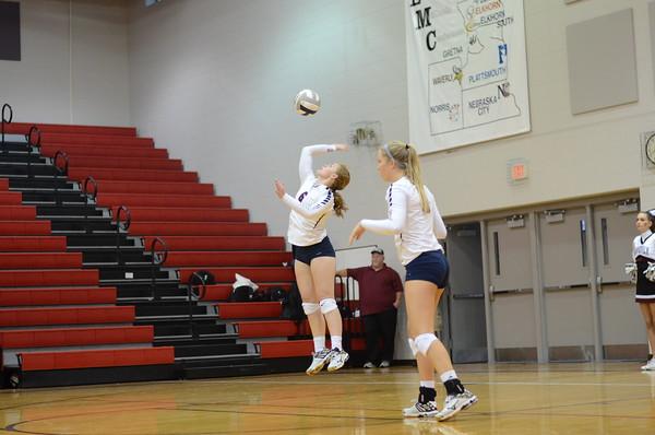 Varsity Volleyball vs Waverly