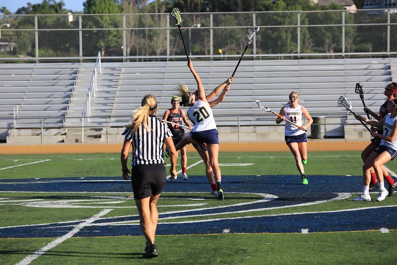 2015_03_31 Girls Lacrosse LCC 15 vs Santa Ana Mater Dei 11 0170.JPG
