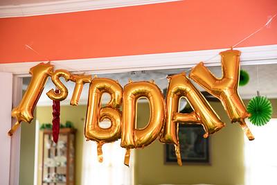 Leighton | 1st Birthday Party