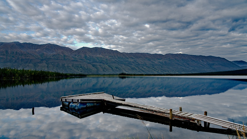 Alaska Highway 1, Koidern, Pickhandle Lake, Yukon