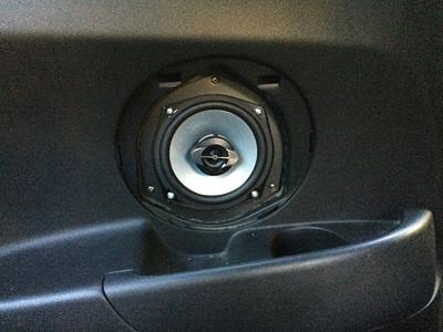 2004 Acura RSX Rear Side Panel Speaker Installation - USA