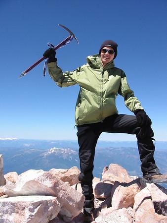 2002 - Mt Shasta climb