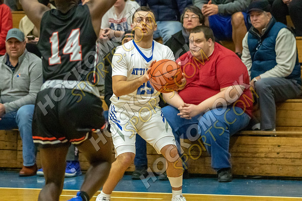 Attleboro-Stoughton Boys Basketball - 12-20-19