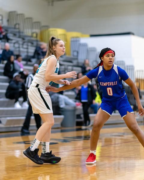 2018-12-10 Kempsville v Hickory Girls Basketball