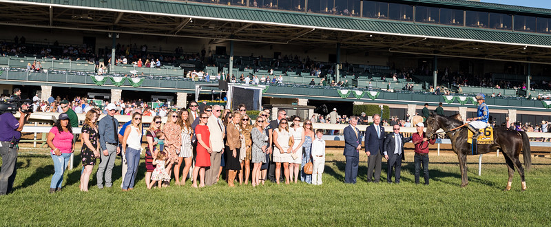 """Maxfield (Street Sense) wins the Breeders' Futurity (G1) a """"Win and You're In"""" Breeders' Cup Juvenile Division at Keeneland on 10.05.2019. Jose Ortiz up, Brendan Walsh trainer, Godolphin owner."""