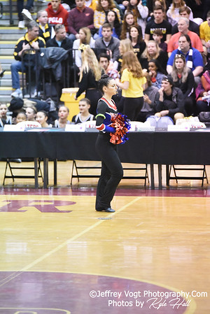 2/2/2019 Thomas S. Wootton HS at MCPS County Poms Championship Blair HS Division 2,  Photos by Jeffrey Vogt Photography with Kyle Hall