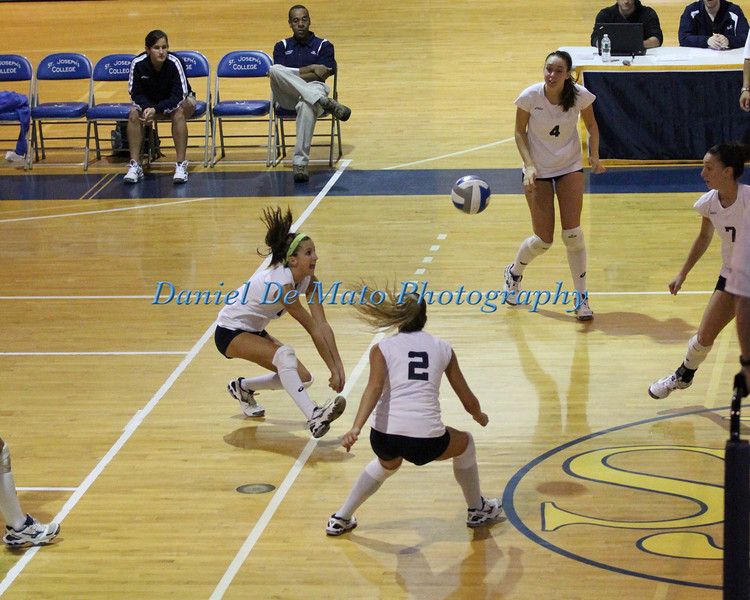 St. Joseph's vs Mount St. Mary's 10-22-11 Sets #3 and #4