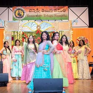 ViBha's fashion show at TTS Ugadi event 2019!!