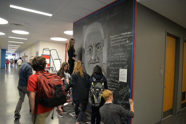 Mural for Mr. McVeigh