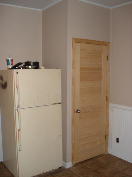 Completion of pantry. ck