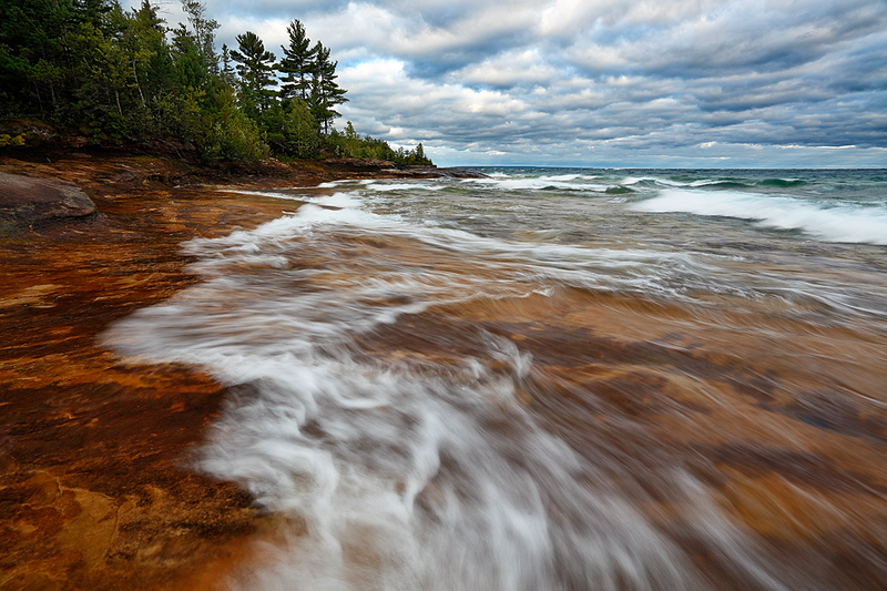 Five Mile Point (Hiawatha National Forest - Upper Michigan)