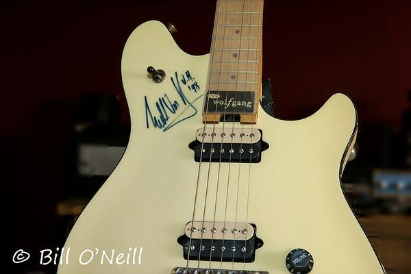 Original '98 Peavey Wolfgang Standard Guitar signed by Eddie Van Halen.