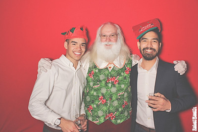 12-23-18 Atlanta The Painted Duck Photo Booth - Painted Hospitality Holiday Party - Robot Booth