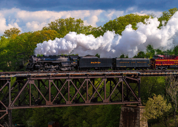 Nickel Plate 765 Steam Locomotive