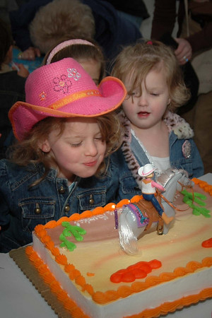 Four Year Birthday Party