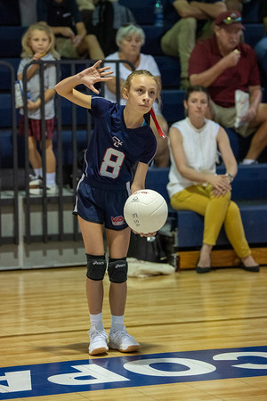 2019 SGS vs ESA volleyball (5th grade)
