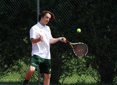 BBA Varsity Boys Tennis vs Rutland photos by Gary Baker