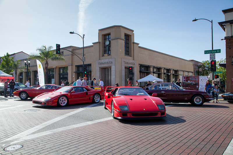 Ferraris on Colorado Blvd and De Lacey Ave