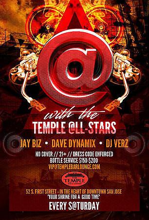 """Temple @LL Stars"" @ Temple Bar & Lounge 10.13.12"