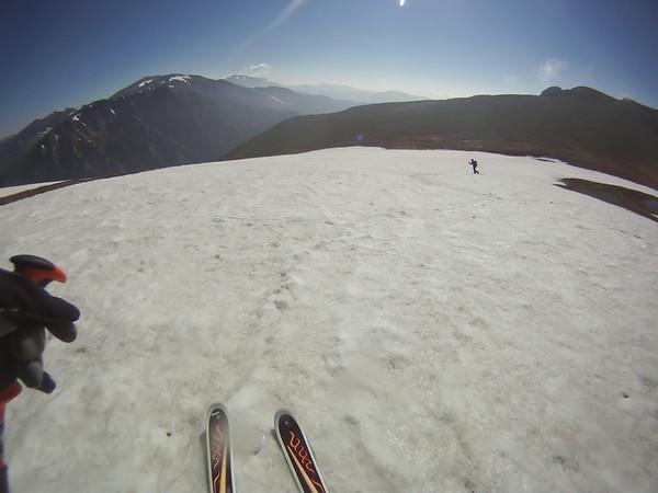 Skiing Sundance Mtn 7-2-14