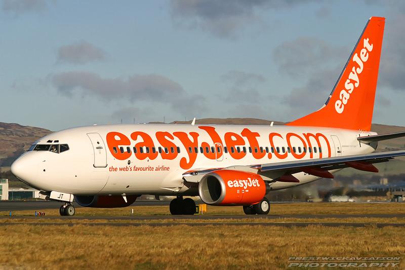 G-EZJT. 737-73V(WL). EasyJet. Glasgow. 300103.