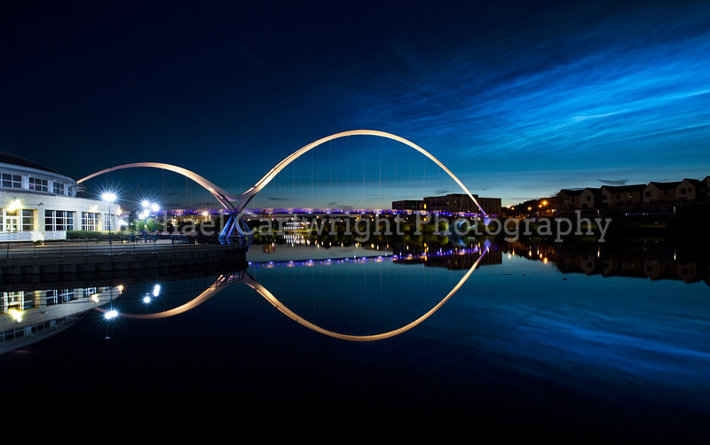 Noctilucent Clouds Over Stockton On Tees